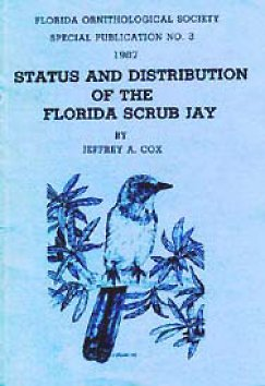 Status and Distribution of the Florida Scrub Jay - Click to Enlarge